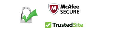 MCAFEE SAFE & SECURE SITE